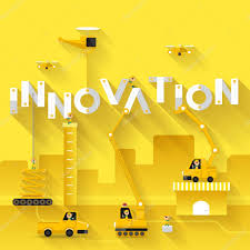 Construction Site Crane Innovation Text Stock Vector Emojoez