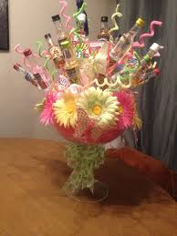 Liquor Lotto Bouquet Made For A Raffle Prize Material Used Large