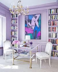 purple office decor. Wonderful Purple Office Decor Interior Designers Share Their Favorite Paint Colors For Summer Via @MyDomaine