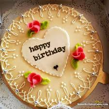 Best Romantic Girlfriend Birthday Cakes Images On Pinterest Happy
