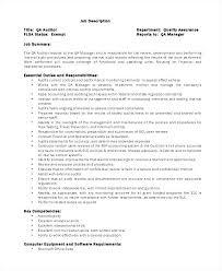 Microsoft Office Job Description Template Retail Manager Ms
