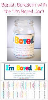 I M Bored Jar Free Printable Homeschool Giveaways