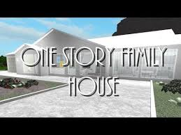 bloxburg one story family house 86k