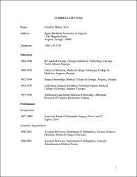 Medical Cv Format Konmar Mcpgroup Co