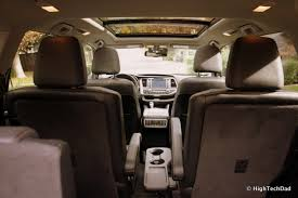 File:Interior - 2014 Toyota Highlander Limited Platinum ...