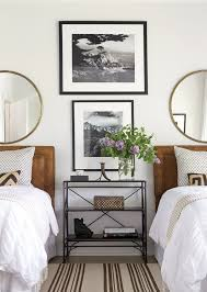 Mirrors For Bedroom Bedroom With Twin Beds Black And White Photography And Matching