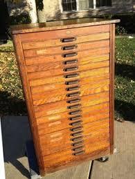 Hamilton Letterpress Cabinet, Reclaimed Antique Cabinet, Vintage ...