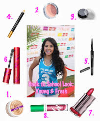 makeup ideas middle makeup back to makeup inspired by becky g outfit tips for her first high first day
