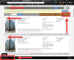 Export listings from search result – Support