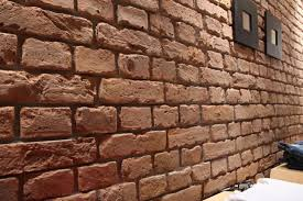 Painting Fake Brick Paneling Fake Brick For Interior Walls The Best Brick
