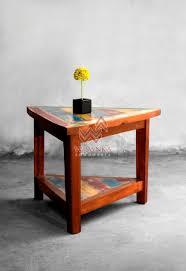 slice coffee table indonesian modern