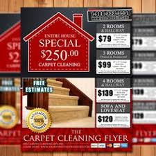 carpet cleaning flyer custom carpet cleaning marketing flyer ready in 24 hours