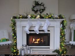 Christmas Fireplace Pictures    Spruce Up Your Stone SurroundChristmas Fireplace Mantel