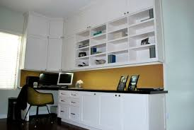 cabinets for home office. Home Office Design Space Decoration Desk Beautiful Built In Cabinets For