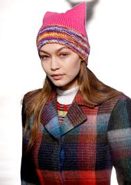 Gigi Hadid and Missoni Models Wear Women s March Pussy Hats on.