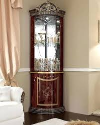 corner cabinets for medium size of curio cabinets for used curio cabinets curved glass