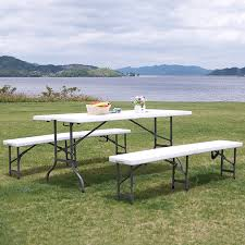 tables chairs 2 chairs set outdoor tables outdoor folding heavy duty large foldable outdoor long table bench outside out of the table chairsx2