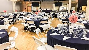 Reception Table Set Up Wedding Venue Elk Grove The Sunshine Event Center