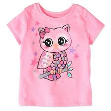 Garanimals Toddler Girls Short Sleeve Graphic T Shirt Size
