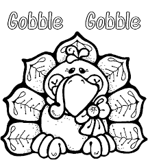 Small Picture Thanksgiving coloring pages gobble ColoringStar