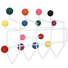 Coloured Ball Coat Rack Amazon Modway Gumball MidCentury WallMounted Coat Rack in 7