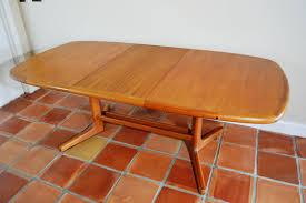 Danish Modern Dining Table Danish Modern Teak Butterfly Dining Table Chairish