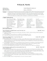 How To Write Technical Resume Computer Technology Resume Stylish How ...