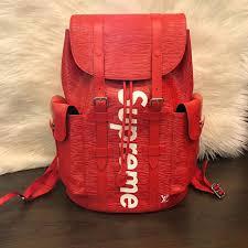 lv supreme backpack men s fashion bags wallets backpacks on carou