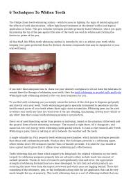 How To Light A Match On Your Teeth 6 Techniques To Whiten Teeth