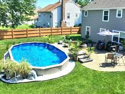 inground pools prices. Exellent Pools Semi Inground Pool Installation Cost Pools  Intended Inground Pools Prices N