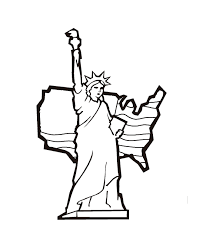 Small Picture Statue Of Liberty Crown Coloring Page ALLMADECINE Weddings The