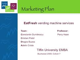 Vending Machine Competitors Cool Eat Fresh Vending Machine Marketing Plan