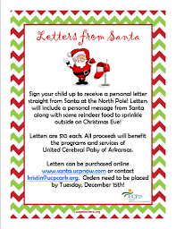 Letters from Santa Flyer 791x1024