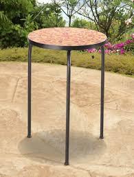 sunjoy accent table orange halo patio furniture patio furniture table o36