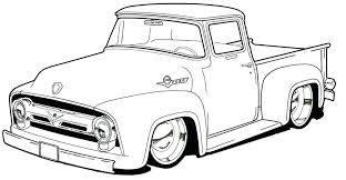 866x449 ford truck coloring pages pickup truck coloring page ford truck