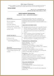resume resume model word resume model word images full size