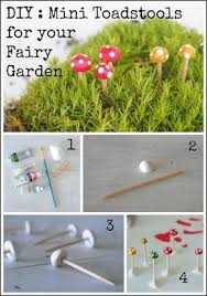 how to build a fairy garden. Tutorial : Make Mini Todstools For Your Fairy Garden Www.themagicOnions.com ( How To Build A N
