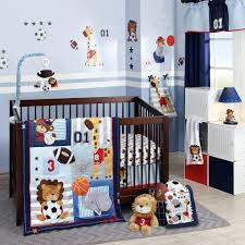 outstanding star crib bedding lambs future all star blue gray sports 4  piece crib all star