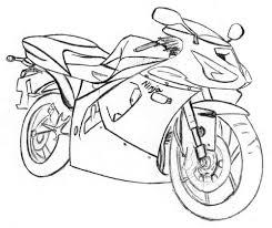 Racemotor Kleurplaat Racemotor Kleurplaat Gratis Kleurplaten Printen