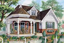 Plan 80703PM One Level Victorian Home Plan  Victorian Cottage Victorian Cottage Plans