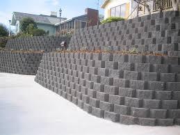 norfolk retaining wall bluestone island block pavers