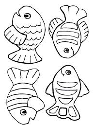 Coloring Pages Creation Coloring Page Free Fish Just For Kids