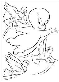 Kids N Fun Kleurplaat Casper Het Vriendelijke Spookje Casper