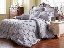 amazoncom unique home  piece reversible pinch pleat comforter