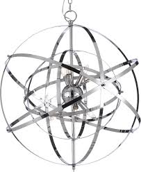 6 light globe pendant