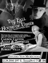 microcinema fall of the house of usher times four live sound silent cinema