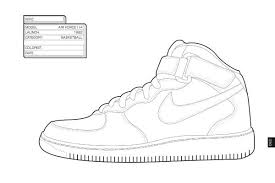 Nike Sneaker Design Illustrazioni Scarpe Shoes Illustrations
