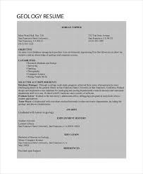 Modern Petroleum Geology Resume Pictures Examples Professional