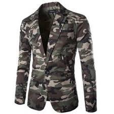 <b>Zogaa Men's</b> Camouflage Blazer 2019 <b>Brand</b> Cotton Lapel Regular ...