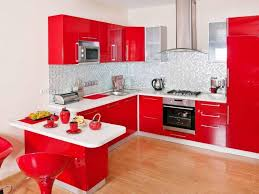 stunning red and white kitchen cabinets attractive favorite color in kitchen to add comfort and moods